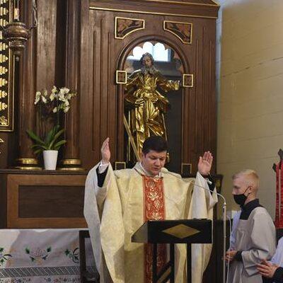 Otwarcie starego kościoła (2.05.2021)